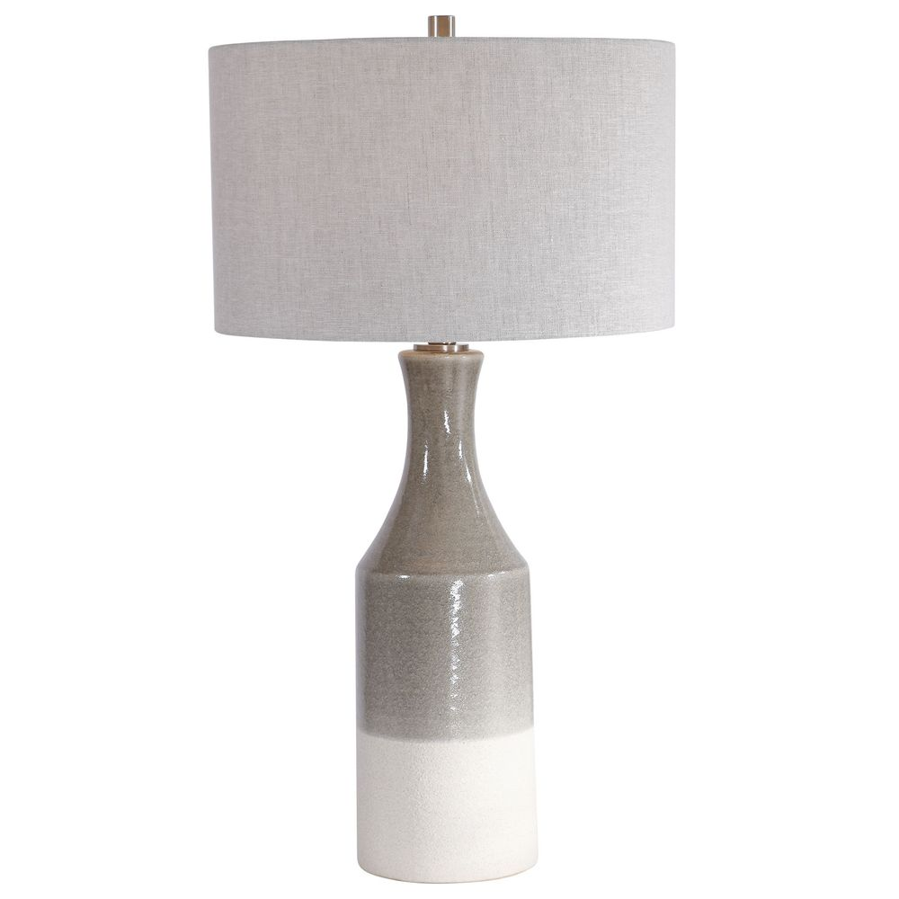 Uttermost Savin Ceramic Table Lamp A35cr The Lighting Boutique